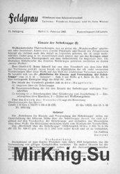 Feldgrau: Mitteilungen einer Arbeitsgemeinschaft 13.Jahrgang 1965 Heft 1-6
