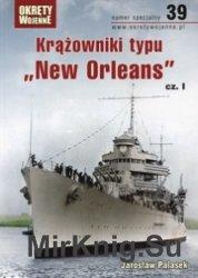 Krazowniki typu New Orleans cz.I - Okrety Wojenne Specjalne 39