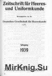 Zeitschrift fur Heeres- und Uniformkunde №107-109