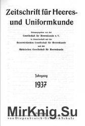 Zeitschrift fur Heeres- und Uniformkunde №97-102