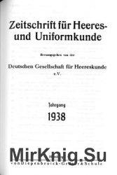 Zeitschrift fur Heeres- und Uniformkunde №103-106