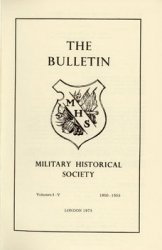The Bulletin: The Military Historical Society Vol.I-V (1950/1955)