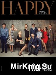 HAPPY Fashion Culture Magazine №100 (апрель 2016)