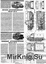 Артиллерийские тягачи АТ-Л, АТ-С, АТ-Т, Ворошиловец (Моделист-Конструктор)