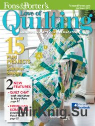 Love of Quilting. 11 выпусков