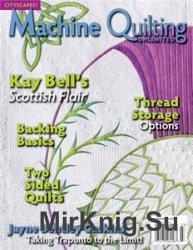 Machine Quilting Unlimited №3 2014