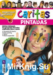 Maquillaje Artístico Caritas Pintadas Nº 01