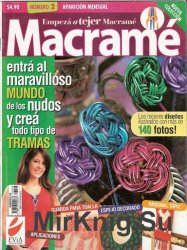 Empeza a tejer Macrame No.2