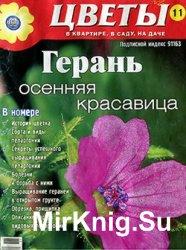 Цветы в квартире, в саду, на даче №11, 2011