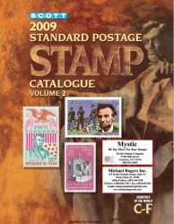 Scott. 2009 Standard Postage Stamp Catalogue. Volume 2 (Countries of the World C-F)