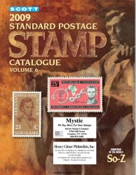 Scott. 2009 Standard Postage Stamp Catalogue. Volume 6 (Countries of the World So-Z)