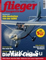 Fliegermagazin 2016-06