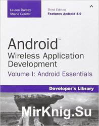Android Wireless Application Development Volume I