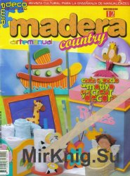 Arte manual Madera Country №12