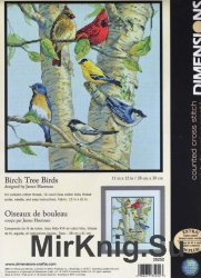 Dimensions 35252 Birch Tree Birds
