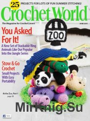 Crochet World Magazine June 2015