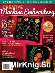 Creative Machine Embroidery January-February 2015