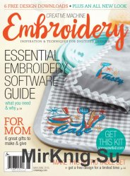 Creative Machine Embroidery May/June 2015