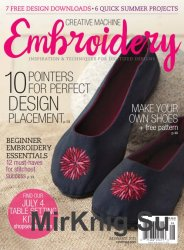 Creative Machine Embroidery July/August 2015