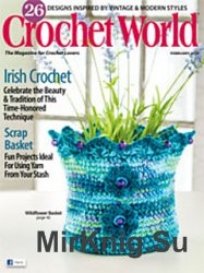 Crochet World Magazine February 2015