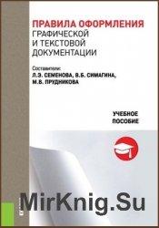 Правила оформления графической и текстовой документации