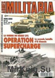 La Guerre Du Desert (IV) Operation Supercharge (Armes Militaria Magazine Ho ...