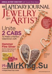 Lapidary Journal Jewelry Artist Volume 69 №8 2016