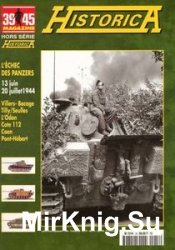 L'eches des Panzers (39/45 Magazine Hors Serie Historica №60)