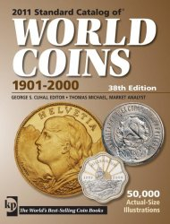 Standard Catalog of Word coins 1901-2000 38th Edition