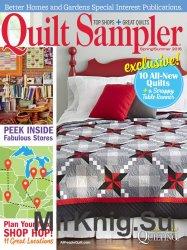 Quilt Sampler - Spring/Summer 2016