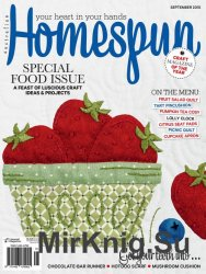 Australian Homespun September 2015