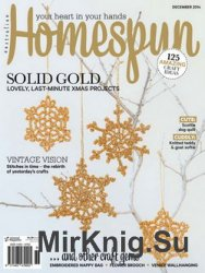 Australian Homespun Vol 15.12 Issue 139 2014