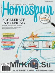 Australian Homespun Issue 136 Vol. 15.9 2014