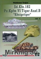 Sd.Kfz.182 Pz.Kpfw.VI Tiger Ausf.B Konigstiger vol.I - Waldemar Trojca №13