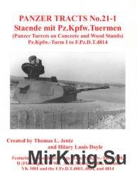 Staende mit Pz.Kpfw.Tuermen (Panzer Tracts No.21-1)