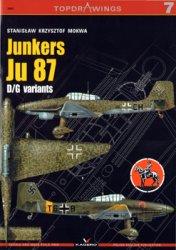 Junkers Ju-87 D/G Variants (Kagero TopDrawings 07)