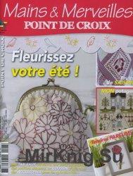 Mains & Merveilles Point de Croix №108 2015