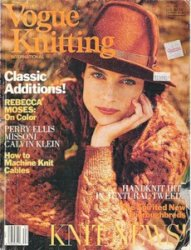 Vogue knitting - Fall 1989