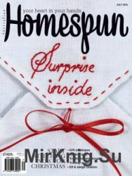 Australian Homespun Issue 134 Vol 15.7 2014
