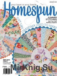 Australian Homespun January 2015 No. 140 (Vol. 16.01)