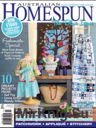 Australian Homespun Issue 109 Vol 13.6 2012