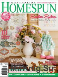 Australian Homespun №118 Vol 14.3 2013