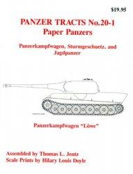 Paper Panzers: Panzerkampfwagen, Sturmgeschuetz and Jagdpanzer (Panzer Trac ...