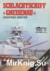 Marine-Arsenal 002 - Schlachtschiff Gneisenau