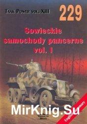 Sowieckie Samochody Pancerne Vol.I (Wydawnictwo Militaria 229)