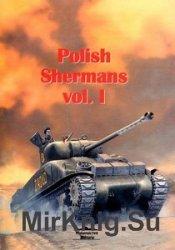 Polish Shermans Vol.I (Wydawnictwo Militaria 124)