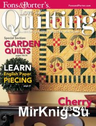 Love of Quilting - July/August 2008