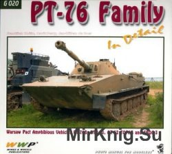 PT-76 Family in detail (WWP Green Present Vehicle Line №20)
