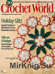 Crochet World Magazine December 2015