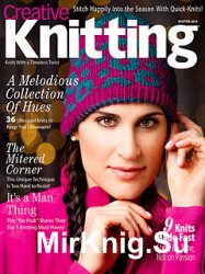 Creative Knitting Winter 2014